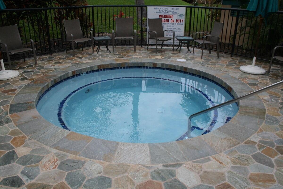 Resort hot tub spa - Kona, Hawaii